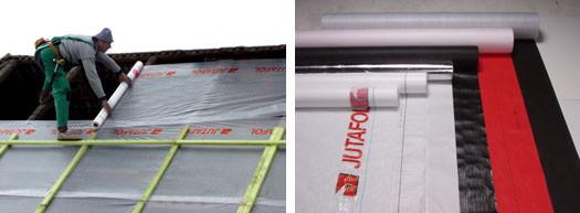 Матеріали для вологозахисту покрівлі