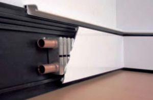 Водяна система плінтусного опалення