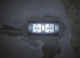 Установка нових розеток, вимикачів