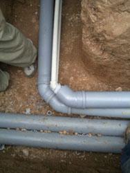 З'єднання металопластикової труби з трубою ПВХ