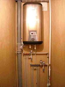 Підключення електричного накопичувального водонагрівача
